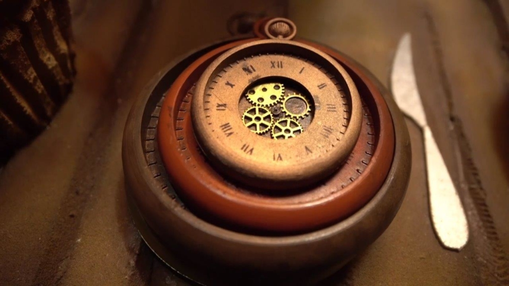 A close up of a watch at Escaparium Escape room in Montreal